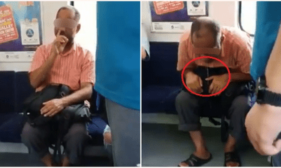 Man Openly Digged His Nose, Rubbed His Face & Spat On Ktm Floor Multiple Times - World Of Buzz