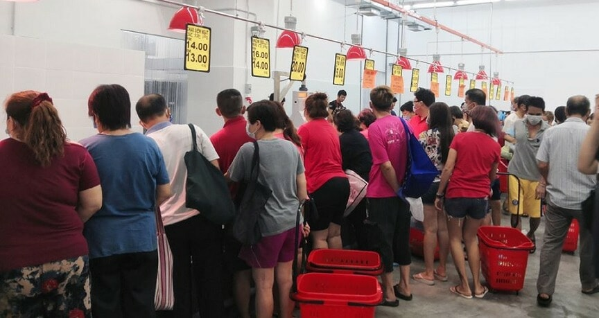 Man Shares His Encounters With Delusional & Disrespectful M'sians Panic Buying At Kepong NSK - WORLD OF BUZZ