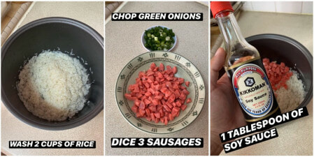 Man Shows Fool-Proof Way To Make Chinese Fried Rice But With a Rice Cooker & Minimal Ingredients - WORLD OF BUZZ 2