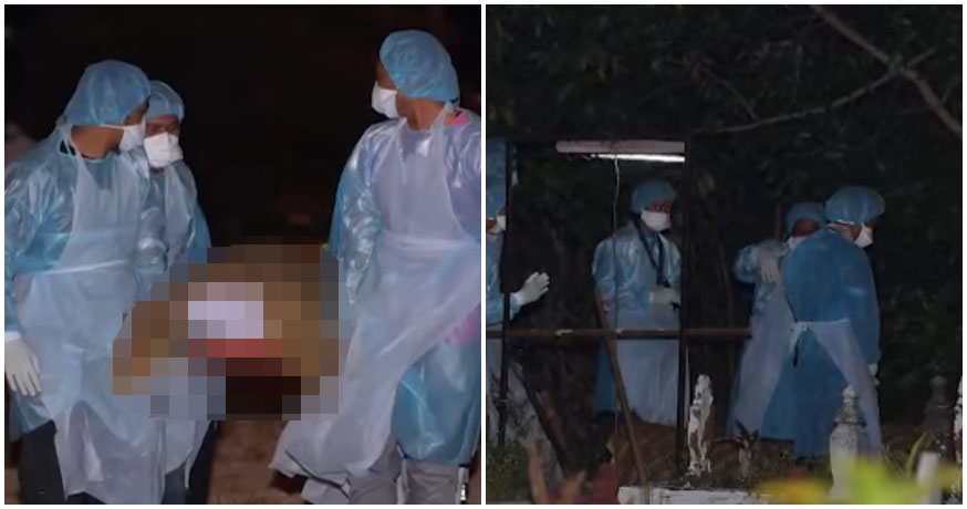 Medical Personnel In Full PPE Suits Have Safely Interred Body of Second M'sian Covid-19 Victim - WORLD OF BUZZ 3
