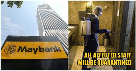 Menara Maybank Takes Quick Action To Sterilise Building After Staff Test Positive For Coronavirus - WORLD OF BUZZ 1