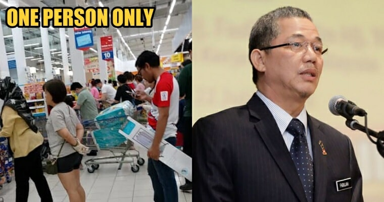 Minister of Works: Only Head of Family Will be Allowed Out to Purchase Daily Essentials - WORLD OF BUZZ