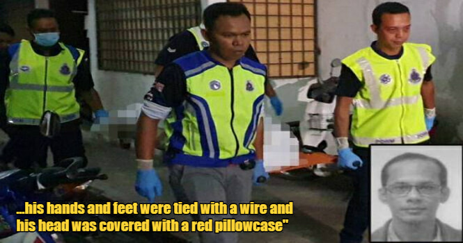 M'sian Man's Dead Body Found After Neighbour Complains Of Stench, Hands & Feet Tied With Wire - WORLD OF BUZZ 1