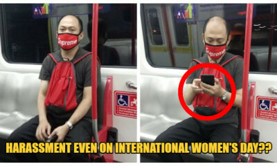 M'sian Woman Gets Sexually Harassed On International Women's Day & Netizens Blamed Her Attire - World Of Buzz
