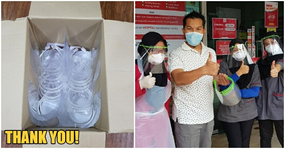 M'sians With 3D Printers Are Helping To End Short Supply of Face Shields in Hospitals from Home - WORLD OF BUZZ