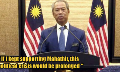 "Muhyiddin: ""I am not a traitor, I never wanted to become PM. I only wanted to save the country."" - WORLD OF BUZZ 2"