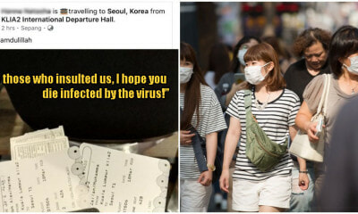 Netizens Are Scolding A M'sian Couple Who Travelled To South Korea Despite The Cmo - World Of Buzz