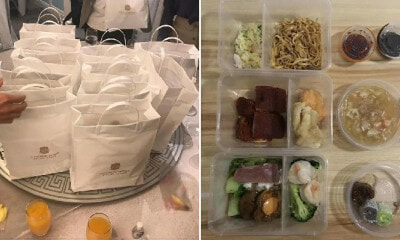 Newlyweds Decide to Give Tapau Bags to Guests At Wedding Banquet To Reduce Covid-19 Risk - WORLD OF BUZZ 3
