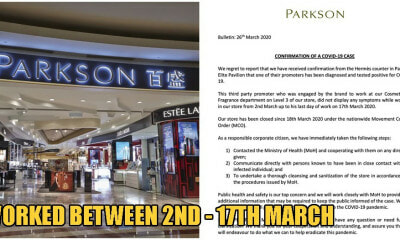 Pavilion Elite Confirms Parkson Salesperson Tests Positive for Covid-19 - WORLD OF BUZZ 1