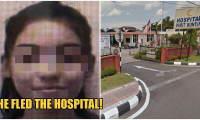 PDRM Confirm Report Of Flight Attendant With Symptoms Of Covid-19 Who Fled Perak Hospital - WORLD OF BUZZ