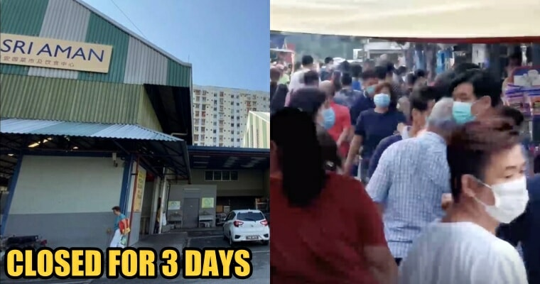Penang Shuts Down Sri Aman Market Because People Are Still Ignoring the Movement Control Order - WORLD OF BUZZ 1