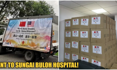 Photos: China Keeps Promise to Deliver Medical Supplies to Malaysia to Help Fight Covid-19 - WORLD OF BUZZ 7
