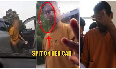 PJ Road Bully SPITS On Woman's Car & Smashes Her Side-Mirror, Gets Arrested With 4 Days Jail - WORLD OF BUZZ 5
