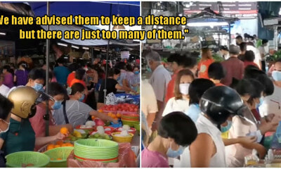 Penangites Are Still Crowding The Wet Market Despite Day Six Into The Movement Control Order - WORLD OF BUZZ 1