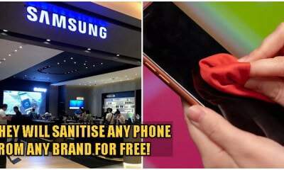 Samsung M'sia Offering FREE Phone Sanitisation For ALL Smarphones To Protect You From Covid-19! - WORLD OF BUZZ