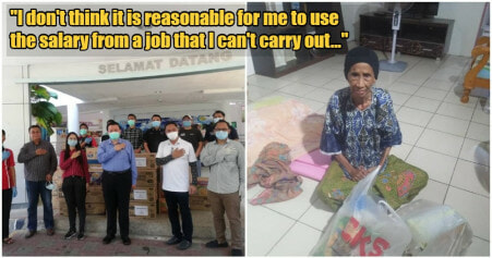 Sepanggar MP Will Be Giving His ENTIRE Month's Salary to The Needy In His Area During MCO - WORLD OF BUZZ