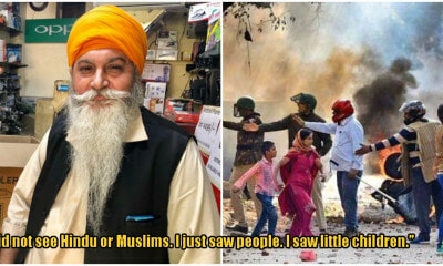 Sikh Uncle Saves Muslims During Riots - WORLD OF BUZZ