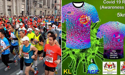 Someone Allegedly Organised a 'Covid-19 Awareness Run' in M'sia & Expects About 2,000 Participants - WORLD OF BUZZ
