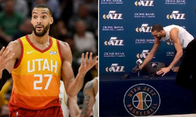 NBA Suspended As Rudy Gobert is Covid-19 Positive Days After He Jokingly Touched Reporters' Mics