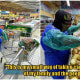 "Terengganu Engineer Goes Grocery Shopping In Garbage Bag ""Protective Suit"" To Avoid Any Risks - WORLD OF BUZZ"