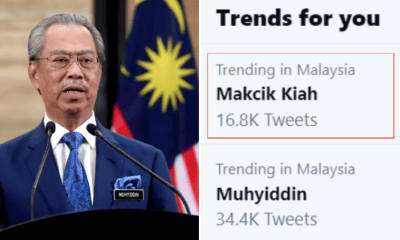 The Internet Went Crazy Over Who Mak Cik Kiah Is & Made Her Trending On Twitter - WORLD OF BUZZ 1