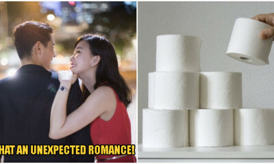 This Couple Are Going On A Date After She Offered Him Some Toilet Paper Rolls - WORLD OF BUZZ 1