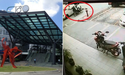 Two Motorcyclists Boldly Snatch M'sian Woman's Bag in Broad Daylight Near Cheras C180 - WORLD OF BUZZ 4