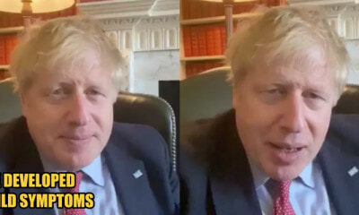 UK Prime Minister Boris Johnson Tested Positive for Covid-19 - WORLD OF BUZZ