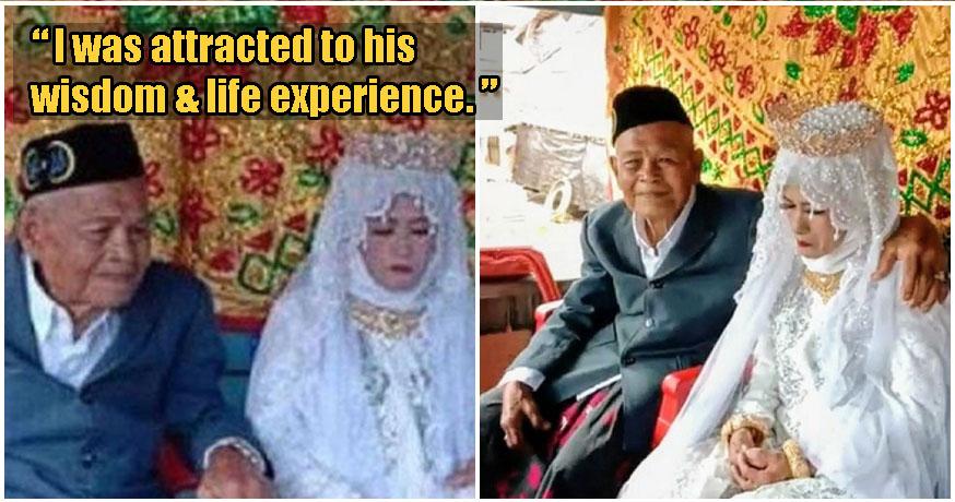 Video: 103yo Elderly Man Impregnates & Marries 27yo Woman, Because Love Really Is Blind - WORLD OF BUZZ 5