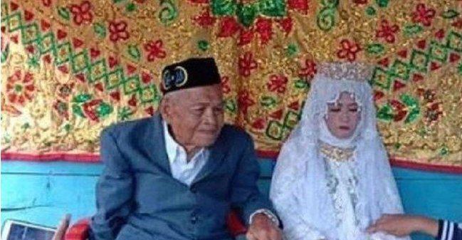 Video: 103yo Elderly Man Impregnates & Marries 27yo Woman, Because Love Really Is Blind - WORLD OF BUZZ 1
