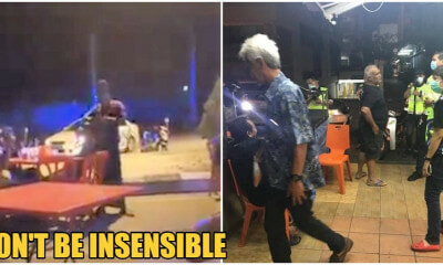 Video: M'sians Still Lepaking At Mamak & Going Out Unnecessarily During Movement Control Order - WORLD OF BUZZ 2