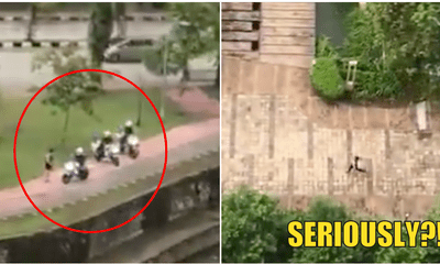 Video: PDRM Crackdown On More Joggers, This Time In Bukit Jelutong - WORLD OF BUZZ