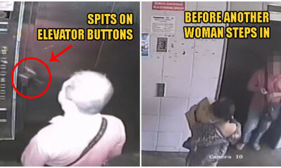 Video: Penang Man Seen Spitting On Elevator Buttons Amid Covid-19 Outbreak in Malaysia - WORLD OF BUZZ 3