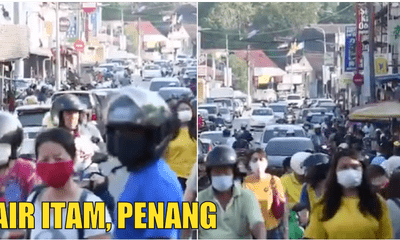 Video: Stubborn & Inconsiderate Penangites Seen Loitering Around In Jalan Air Itam - WORLD OF BUZZ 3
