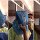 Viral Video Shows Heroic Front-liners Using Normal Plastic Bags On Their Head For Protection - WORLD OF BUZZ 4
