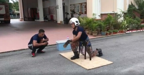 Watch: Impressive Abang Bomba Training Video Reaches More Than 5.5 Million Views - WORLD OF BUZZ 1