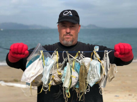 Your Masks Are Polluting The Ocean! Over 70 Masks Found On 100m Beach Stretch Worries Environmentalists - WORLD OF BUZZ 1