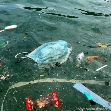 Your Masks Are Polluting The Ocean! Over 70 Masks Found On 100m Beach Stretch Worries Environmentalists - WORLD OF BUZZ 2