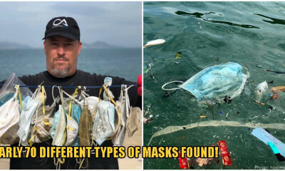 Your Masks Are Polluting The Ocean! Over 70 Masks Found On 100m Beach Stretch Worries Environmentalists - WORLD OF BUZZ