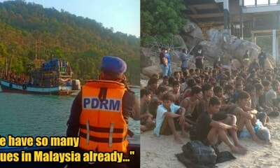 250 Rohingya Refugees Docked at Langkawi This Morning, Netizens Extremely Angry - WORLD OF BUZZ