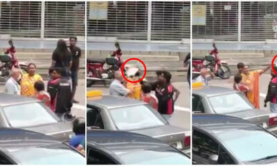 80yo Penang Uncle Hit with Helmet on The Head by Angry Motorist - WORLD OF BUZZ