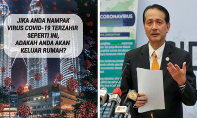 Health Dg Shares Creative Covid-19 Photo On Social Media To Get M'sians To Stay At Home & Netizens Love It! - World Of Buzz