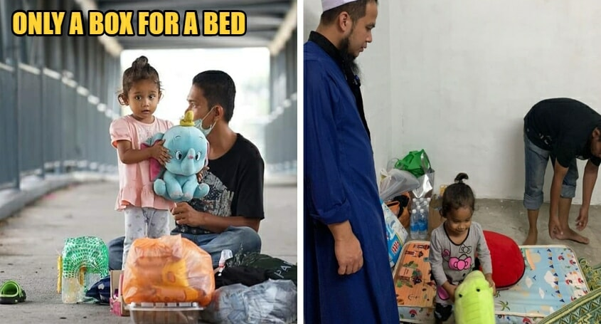 Ustaz Rescues Homeless Family Living On A Bridge By Getting Them A Home - WORLD OF BUZZ