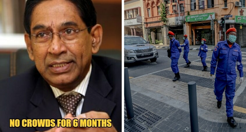 Former Health DG Says That M'sians Should Avoid Crowds For 6 Months After MCO Just To Be Safe - WORLD OF BUZZ