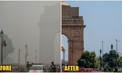 India Displays Significant Drop In Air Pollution Since Nationwide Covid-19 Lock Down - World Of Buzz