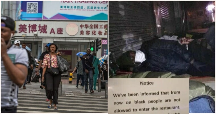 Africans Are Being Thrown Out Of Their Homes In China, After - WORLD OF BUZZ
