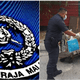 Abang Police Brickfields Gave His Food Away To Feed The Homeless. Thank You! - WORLD OF BUZZ 1