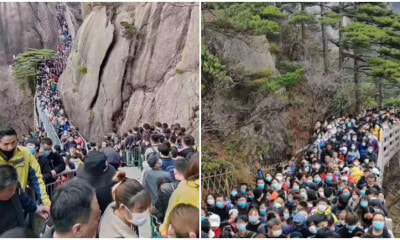 Chinese Tourists Pack National Parks As Lockdown Ends - WORLD OF BUZZ