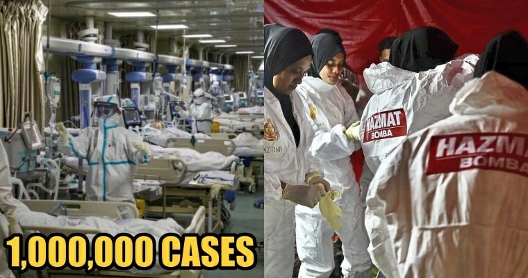 Covid-19 Cases Surpass 1 Million Globally - WORLD OF BUZZ