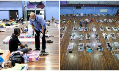DBKL Gives Over 510 Homeless People A Place To Stay & Beds To Sleep During MCO - WORLD OF BUZZ 3